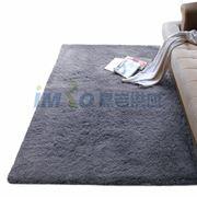 图片 【京东超市】富居(FOOJO)加柔长绒 可水洗客厅地毯70*160cm灰色