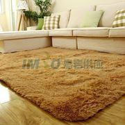 图片 【京东超市】富居(FOOJO)加柔长绒客厅茶几卧室地毯140*200cm驼色