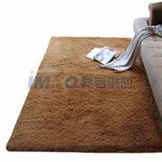 图片 【京东超市】富居(FOOJO)加柔长绒 可水洗客厅地毯70*160cm驼色