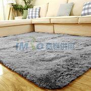图片 【京东超市】富居(FOOJO)加柔长绒客厅茶几卧室地毯140*200cm灰色
