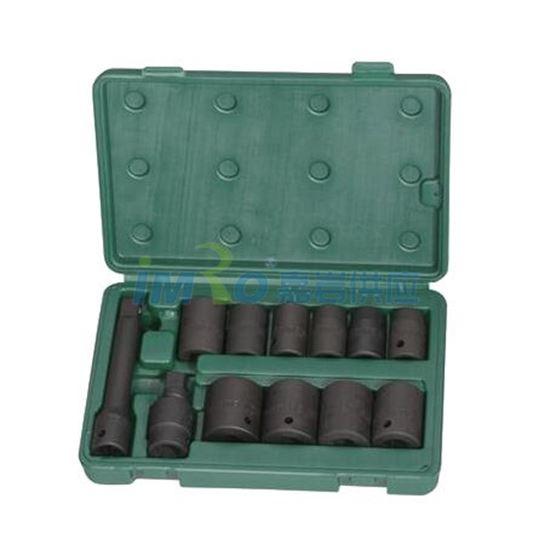 图片 12pcs 6.3MM系列公制套筒塑架组套工具060012 Taisen/泰森