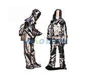 图片 300 分体式整套带SCBA背囊隔热防护服9910125 MSA/梅思安